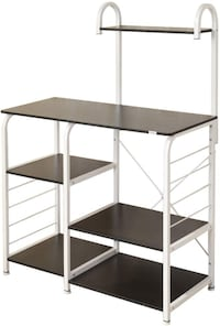 4-Tier Kitchen Baker's Rack Utility Workstation Shelf