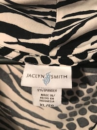 black and white leopard print textile Russellville, 72802