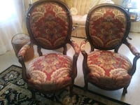 Antique chairs. His and Hers Conyers, 30013