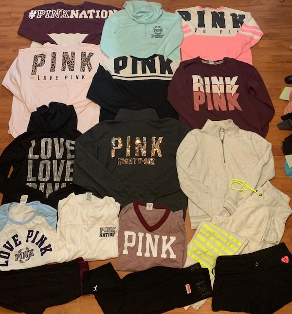 218e7408430ca Used Love pink clothes for sale in Brownsville - letgo