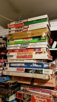 Board games assorted prices vary