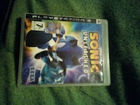 Sonic Unleashed caso di gioco PS3