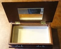 "Simple Jewelry Box 2.75"" x 9.75"" x 5"" Rochester Hills"
