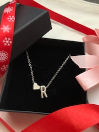 Heart letter necklace, see more letter on my profile Heimdal, 7072