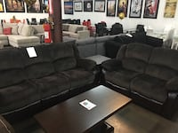 Microfiber Reclining Sofa and Love Seat. Brand new. Farmers Branch, 75234