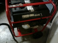 red and black Porter Cable portable generator Stockton, 95206