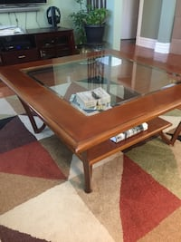 REDUCED - Coffee & 2 end tables