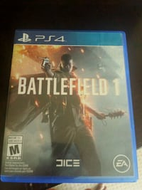 Battlefield 1 PS4 game like new Cambridge, N1T 2C9