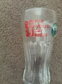 2018 FIFA world cup glass Barrie, L4M 6B1