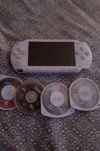 Sony white psp with games