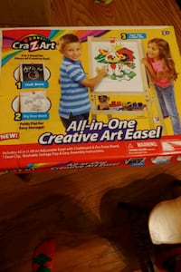 Cra-Z-Art 3 and 1 upright Art Easel