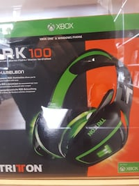 green and black RK 100 Kameleon gaming headset box Montréal, H1G