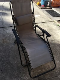 black and gray metal bench Palm Harbor, 34683