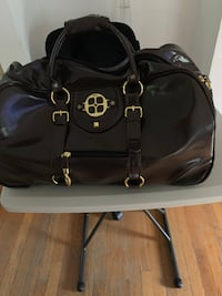 Iman Duffle Roller Carry-on Bag