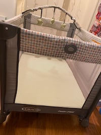 Graco pack and play including mattress