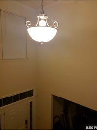 Chrome finish entry way chandelier  Accokeek, 20607