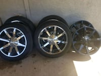 """22"""" wheels and tires Midland, 79707"""
