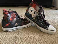 Like New Harley Quinn Converse Hi-top Broadlands, 20148