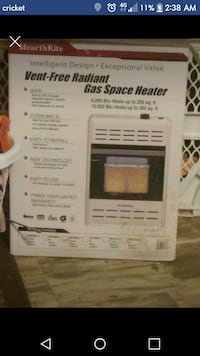 Natural Gas space heater Athens, 35614