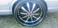 24 inch rims with tires 5x4.5 Colorado Springs, 80905