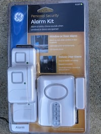 Sealed GE 51107 personal security Window or door alarm kit, $15 each must buy all of them Dana Point, 92629