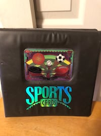 Sports Card Album & 121 Basketball Cards from 1990's Baltimore, 21236
