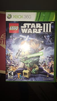 Xbox One Lego Star Wars game case 847 mi