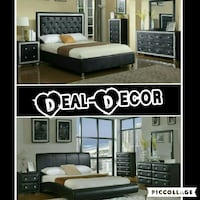 Black 4 Piece Bedroom Set  Atlanta, 30315