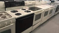 Electric stoves( Almond Color) 90 days warranty Reisterstown, 21136