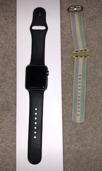 Black apple watch with box