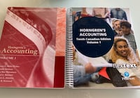 Horngren's Accounting, Volume 1, Tenth Canadian Edition Surrey, V3T 0L3