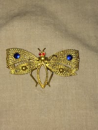Metal Butterfly Pin 3157 km