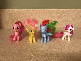 (4) My Little Pony Dolls