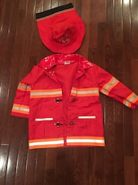 Kids Firefighters jacket and hat Ashburn, 20147
