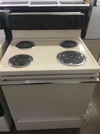 Almond Bisque Coil Top Stove Knoxville