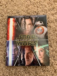 Star Wars: The Force Awakens Blu-Ray + DVD + Digital HD Bakersfield, 93312