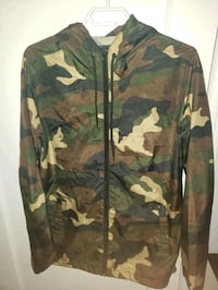 Camo Windbreaker Jacket.