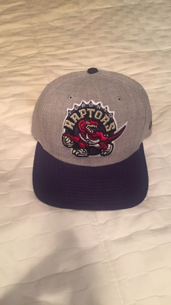 c04d328fb1f0f7 Used black and gray Toronto Raptors cap for sale in Guelph - letgo