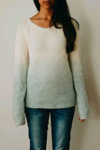 Cozy gradient sweater - size 3 - Maison Scotch London, N6A 3L5