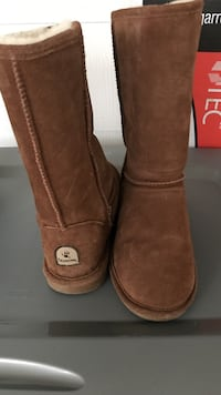 pair of brown Bearpaw Emma boots