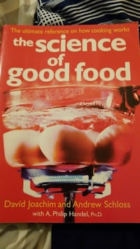 The Science of Good Food book