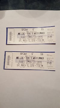 WWE  Tickets Courtice, L1E 1L6
