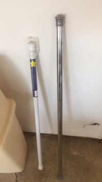 Two shower/utility rods  Hampton, 23666