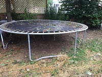 round black metal patio table Gaithersburg, 20878