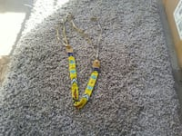 Native american hand beaded necklace