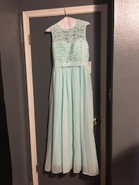 Coral Mint Bridesmaid Dress Warren, 48092