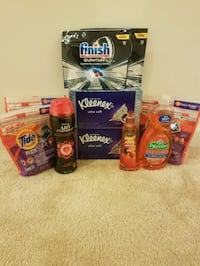 Laundry and household bundle- $30 Rockville