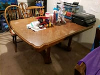 Wood table Coram, 11727