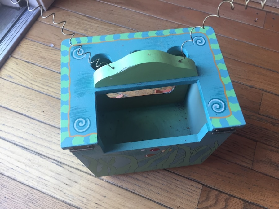 Used fish bowl cover or display box in baltimore for Book with fish bowl on cover