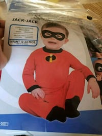 Incredibles toddler costume size 12 to 24 mnths Oxnard, 93030